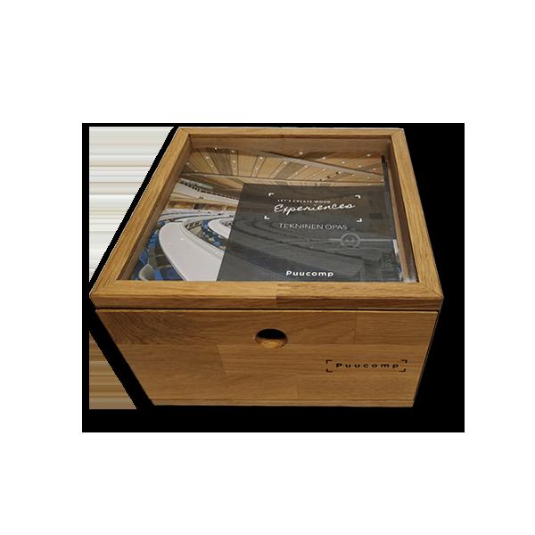 PUUCOMP – Näytelaatikko arkkitehtitoimistoille